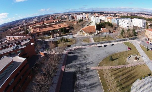 Vista aerea del barrio de La Fuenfresca