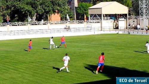 Imagen del partido de Copa federación que jugaron Andorra y Teruel hace unas semanas