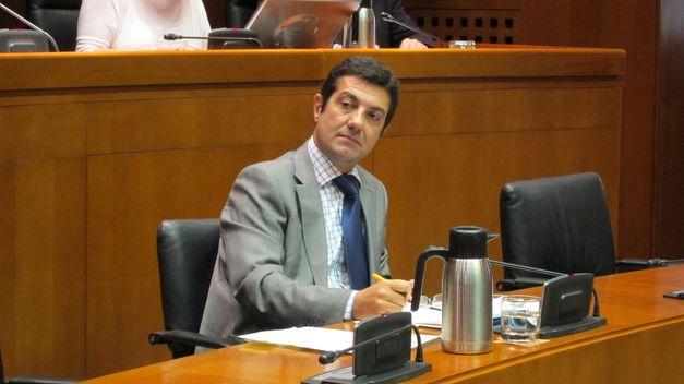 El director general de la Función Pública y Calidad de los Servicios del Gobierno de Aragón, Ignacio Zarazaga,