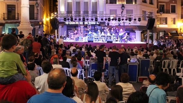 Una imagen de archivo de una actuación de la Big Band