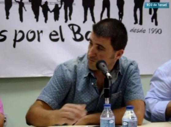 El incansable preidente de la Asociación de vecinos de Arrabal, Michel Gorriz