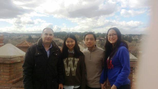 Imagen de archivo de otra visita de periodistas chinos a nuestra ciudad