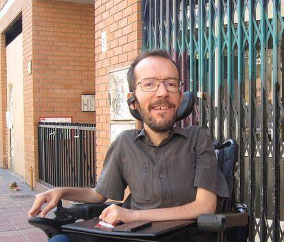 En la imagen, Pablo Echenique, de Podemos