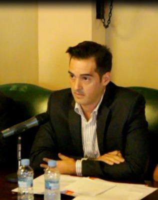 El grupo politico Ciudadanos,(en la imagen su portavoz , Ramón Fuertes), se está mostrando especialmente activo en este inicio de legislatura