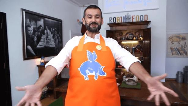 El popular cocinero David de Jorge(Robín Food) presenta hoy en nuestra ciudad la paleta de Teruel
