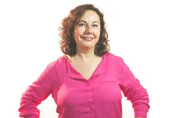 En la imagen , la portavoz del grupo Ganar Teruel, Anabel Gimeno