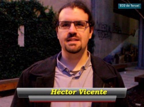 En la imagen,Héctor Vicente Ocón  Secretario general municipal de Podemos Teruel y  Diputado autonómico en Cortes