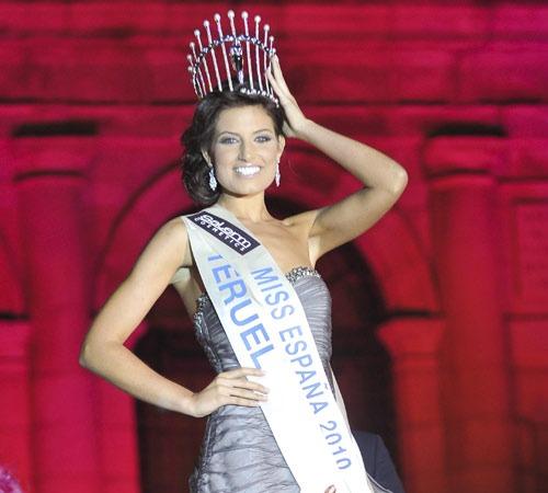 Paula Guilló, Miss Teruel, fue coronada Miss España 2010