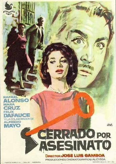 """No es la primera vez, como sucedió recientemente, que Albarracín se transforma en plató cinematográfico; en 1961 un día como hoy Gamboa inició el rodaje de """"Cerrado por asesinato""""."""