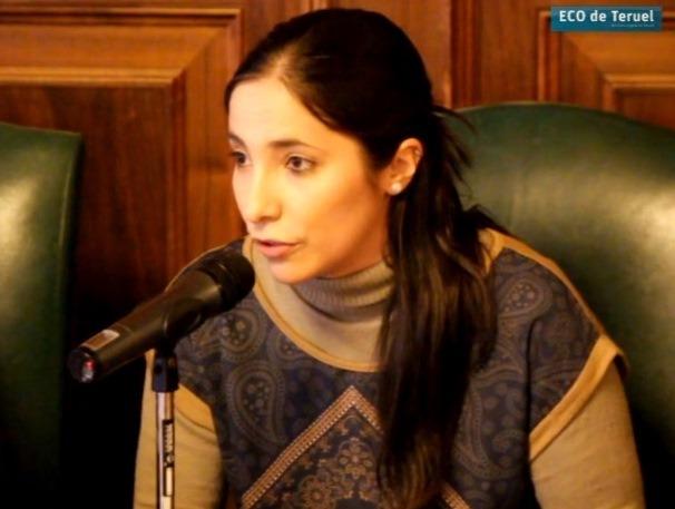 En la imagen, la Gerente de ACEST Teruel, Nuria Ros