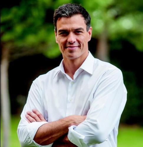 El Secretario General del PSOE, Pedro Sanchez