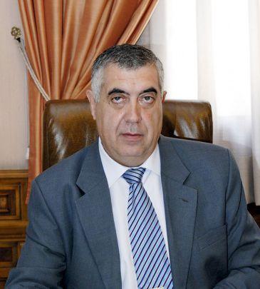 Antonio Arrufat en su época de presidente de la Diputación Provicncial