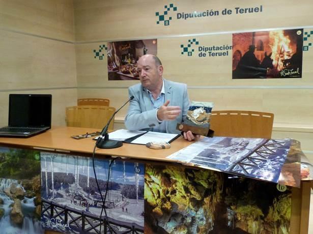 En la imagen ,el diputado delegado de Turismo , Francisco Martí,