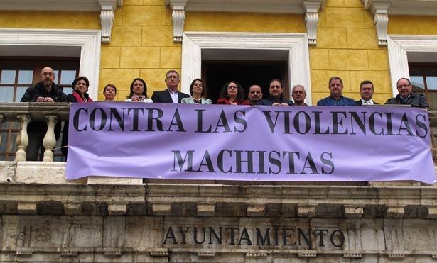Pancarta Contra Violencias Machistas