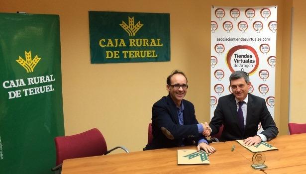 La asociaci n de tiendas virtuales de arag n firma de for Caja rural de teruel oficinas