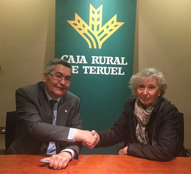 Caja rural de teruel firma un convenio de colaboraci n con for Caja rural de teruel oficinas