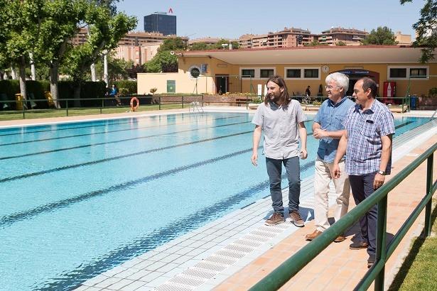 Varios zaragoza el sabado abren las piscinas de verano for Piscina ciudad jardin sevilla