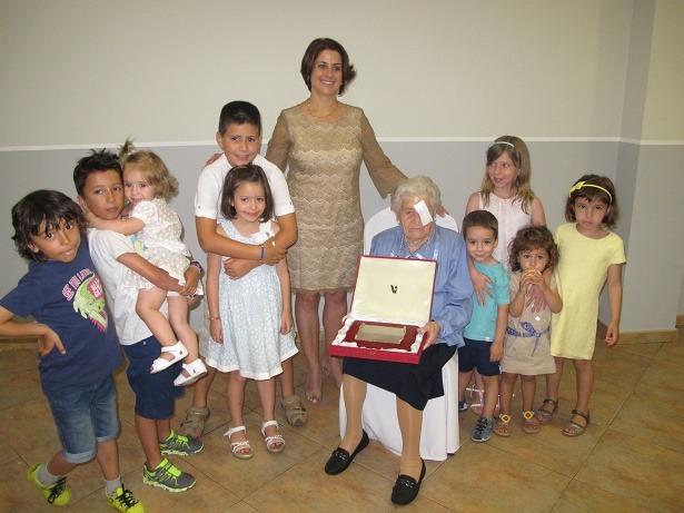 Homenaje centenaria