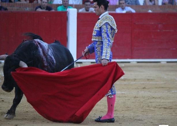 El torero Antonio Puerta , ayer en Teruel