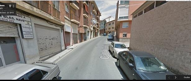 Una imagen de la calle de la Jardinera,obtenida de Google Maps