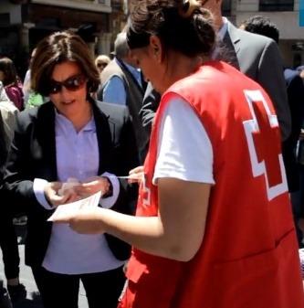 Hasta la Vicepresidenta del Gobierno, Soraya Saenz de Santamaria, compro boletos de este sorteo en Teruel