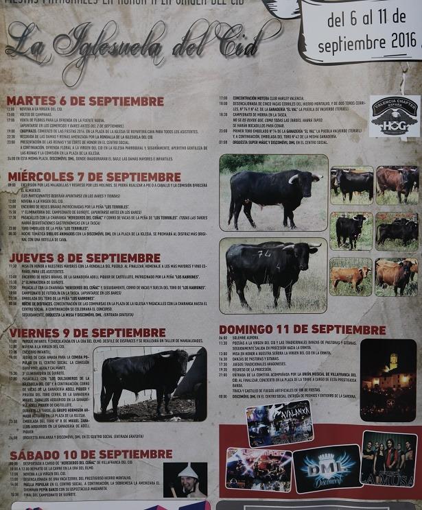 Programa La Iglesuela