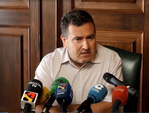 El concejal de Cultura, José Luis Torán , esta mañana