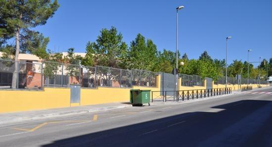 Imagen actual del Colegio Anejas