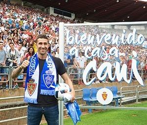 Cani , fichaje estrella del Zaragoza de esta temporada