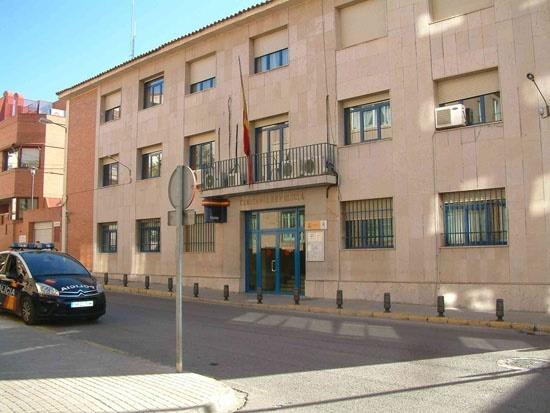 En la imagen , la comisaria provincial de Teruel