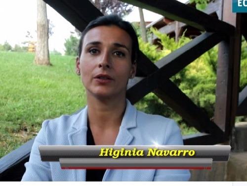 En la imagen , la Gerente de Dinópolis, Higinia Navarro