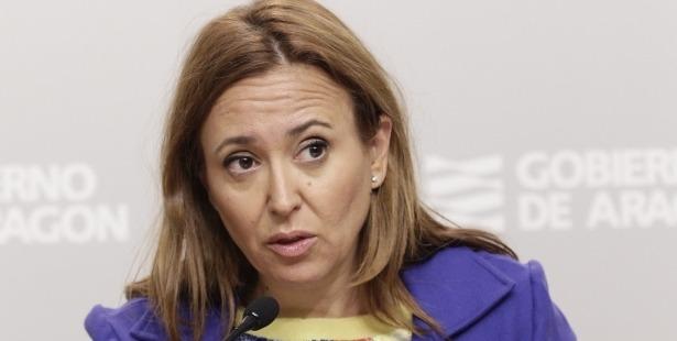 En la imagen, la Consejera de Cultura del Gobierno aragonés