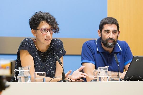 La concejala de delegada de Participación, Transparencia y Gobierno Abierto del ayuntamiento de Zaragoza,Elena Giner,