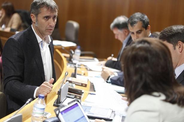 En la imagen , el aguerrido diputado de Ciudadanos por la provincia de Teruel, Ramiro Domínguez