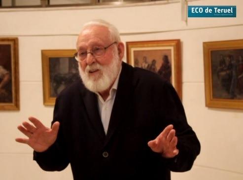 El pintor Agustín Alegre , en una foto de archivo de Febrero de este año