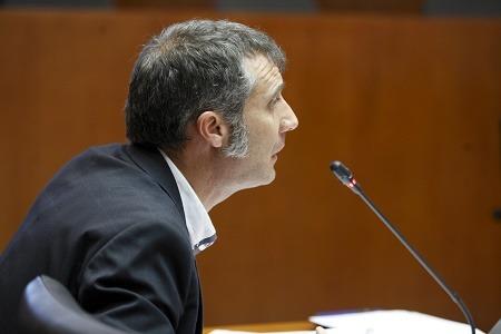 Ramiro Dominguez, diputado de Ciudadanos Teruel en las Cortes de Aragón