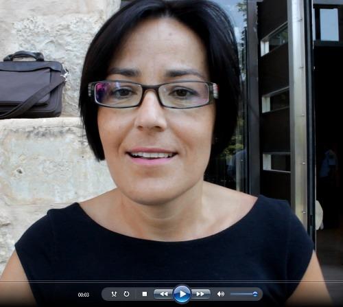 La alcaldesa de Andorra, Sofia Ciercoles