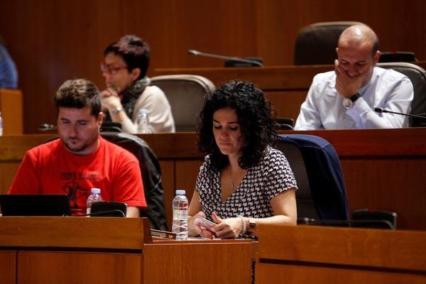 Diputados de Podemos en las Cortes de Aragón