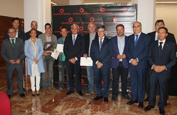 Imagen de la entrega de los premios de Calidad del Jamón de la edición del año pasado