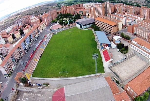 Una imagen aérea de Campo Pinilla