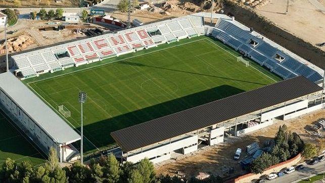 Imagen del magnifico estadio La Fuensanta , de Cuenca