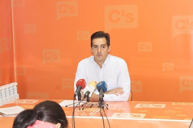 El concejal de Ciudadanos en el Ayuntamiento de Teruel,Ramón Fuertes