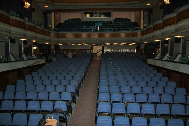 Una imagen de esta mañana del Teatro