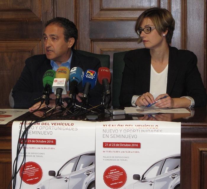 José Manuel Valmaña y Maria Vigara, esta mañana