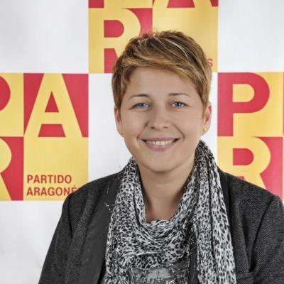 La Diputada Autonómica del PAR, Berta Zapater
