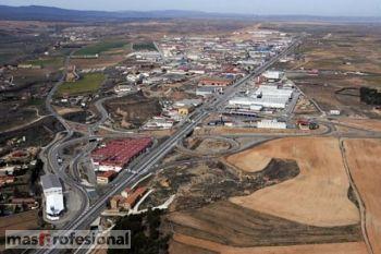 Vista aérea del Poligono La Paz