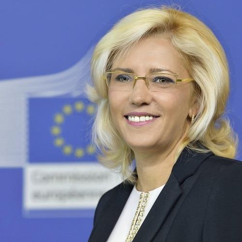 Una imagen reciente de la Comisaria Europea Corina Cretu