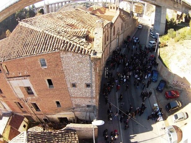Una vista del Antiguo Asilo del Barrio de San Julián