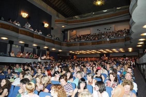 Una imagen de archivo del Teatro Marín