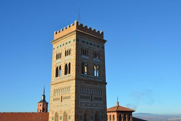 Una imagen de la Torre de San Martín(Amparo Hernández)